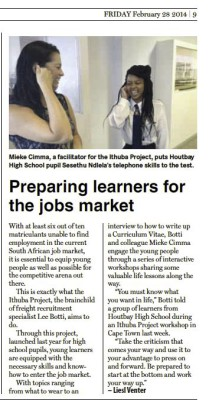 iThuba article - Feb 28, 2014