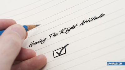 having the right attitude blog image
