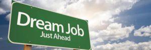 dream job sign board