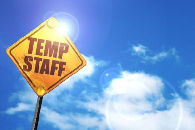 Sign Reading Temp Staff
